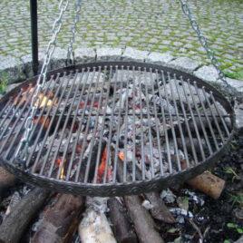 Grill rustfri stål 50 Ø